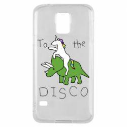 Чохол для Samsung S5 To the disco