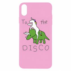Чохол для iPhone Xs Max To the disco