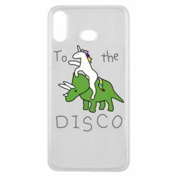 Чохол для Samsung A6s To the disco