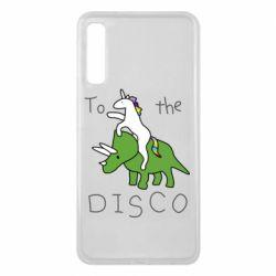 Чохол для Samsung A7 2018 To the disco