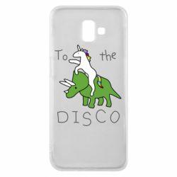 Чохол для Samsung J6 Plus 2018 To the disco