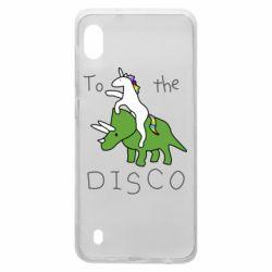 Чохол для Samsung A10 To the disco