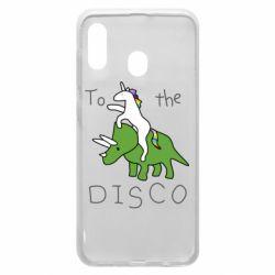 Чохол для Samsung A20 To the disco