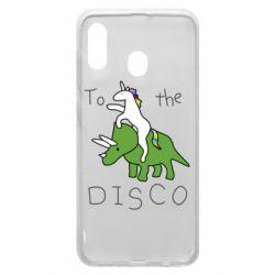 Чохол для Samsung A30 To the disco