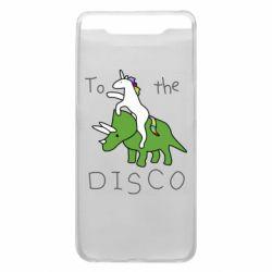 Чохол для Samsung A80 To the disco