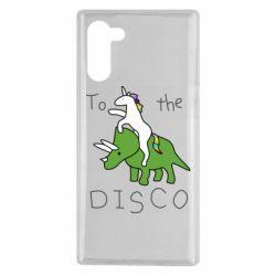 Чохол для Samsung Note 10 To the disco