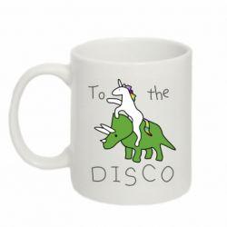 Кружка 320ml To the disco