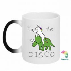 Кружка-хамелеон To the disco