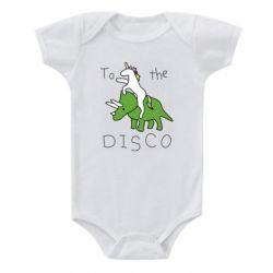Дитячий бодік To the disco