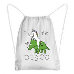 Рюкзак-мішок To the disco