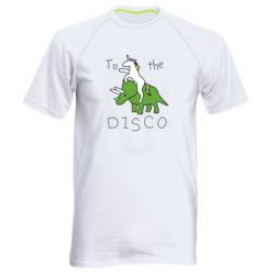 Чоловіча спортивна футболка To the disco
