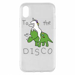 Чохол для iPhone X/Xs To the disco