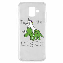 Чохол для Samsung A6 2018 To the disco