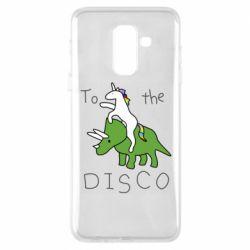 Чохол для Samsung A6+ 2018 To the disco