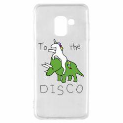 Чохол для Samsung A8 2018 To the disco