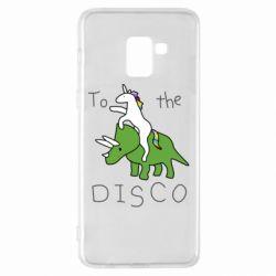 Чохол для Samsung A8+ 2018 To the disco