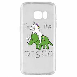 Чохол для Samsung S7 To the disco