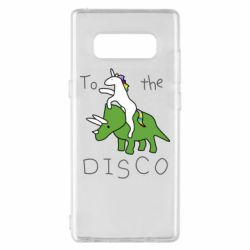 Чохол для Samsung Note 8 To the disco