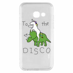 Чохол для Samsung A3 2017 To the disco