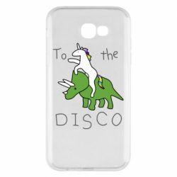 Чохол для Samsung A7 2017 To the disco