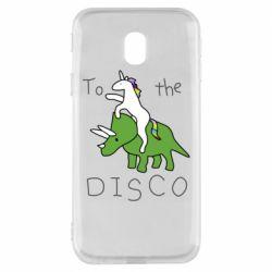Чохол для Samsung J3 2017 To the disco