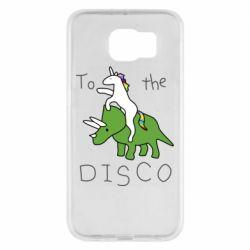 Чохол для Samsung S6 To the disco