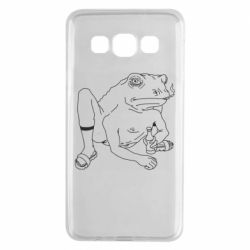 Чехол для Samsung A3 2015 Toad with human hands