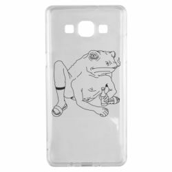 Чехол для Samsung A5 2015 Toad with human hands