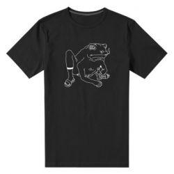 Чоловіча стрейчева футболка Toad with human hands
