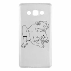 Чехол для Samsung A7 2015 Toad with human hands
