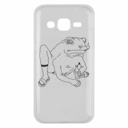 Чохол для Samsung J2 2015 Toad with human hands