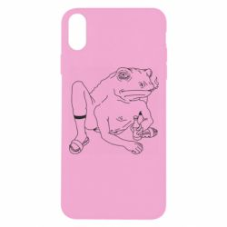 Чохол для iPhone Xs Max Toad with human hands