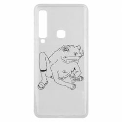 Чехол для Samsung A9 2018 Toad with human hands