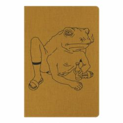 Блокнот А5 Toad with human hands