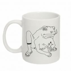 Кружка 320ml Toad with human hands