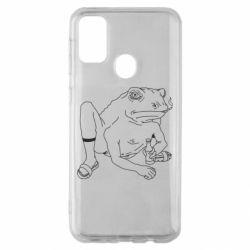 Чохол для Samsung M30s Toad with human hands