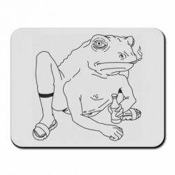 Килимок для миші Toad with human hands