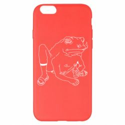 Чохол для iPhone 6 Plus/6S Plus Toad with human hands