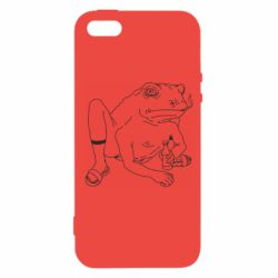 Чохол для iPhone 5 Toad with human hands