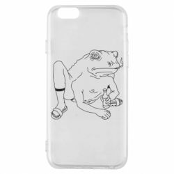 Чохол для iPhone 6 Toad with human hands