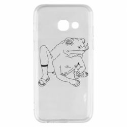 Чехол для Samsung A3 2017 Toad with human hands