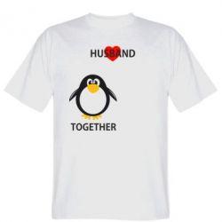 Мужская футболка Together forever2