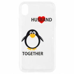 Чехол для iPhone XR Together forever2