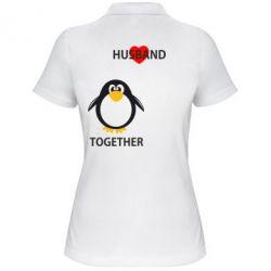 Женская футболка поло Together forever2