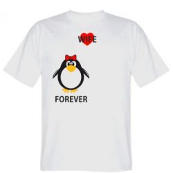 Мужская футболка Together forever - FatLine