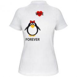 Женская футболка поло Together forever - FatLine