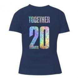 Женская футболка Together голограмма