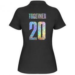 Женская футболка поло Together голограмма