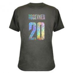 Камуфляжная футболка Together голограмма
