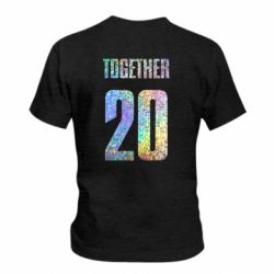 Детская футболка Together голограмма